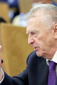 Жириновский заявил, что мог бы стать президентом Украины
