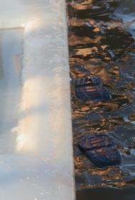 На Сахалине в крещенской купели нашли следы нефтепродуктов