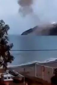 На строящейся российскими специалистами атомной стации в Турции произошел плановый взрыв
