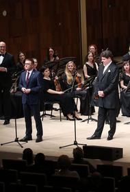 Челябинский симфонический оркестр выступил в столице