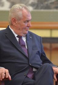 Президент Чехии сделает прививку от коронавируса
