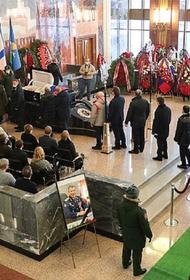 Героя Советского Союза Николая Антошкина похоронят на Мемориальном кладбище Минобороны