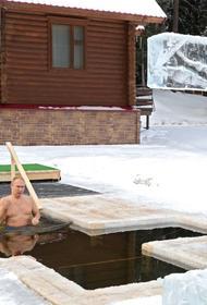 Британцы прокомментировали кадры с окунающимся в прорубь Путиным