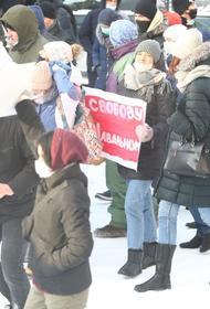 В Челябинской области подвели официальные итоги митингов в поддержку Навального