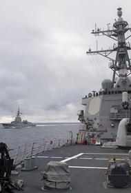 За эсминцем США Donald Cook, зашедшем в Черное море, наблюдает Черноморский флот
