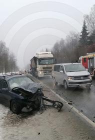 В Москве четыре человека пострадали в жестком ДТП на Варшавском шоссе