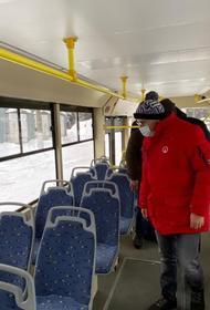 Алексей Текслер протестировал новые трамваи в Златоусте