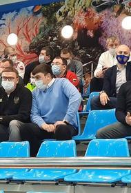 Челябинский губернатор побывал на победном матче «Уралочки»