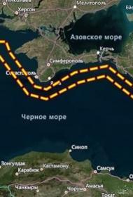ЧФ РФ перекрыл обширную акваторию и воздушное пространство Черного моря для доступа кораблей и самолетов