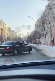 В Краснодаре наказали гонщиков, устроивших дрифт на центральной улице города