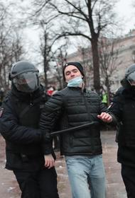 МВД назвало число участников акции 23 января в поддержку Навального