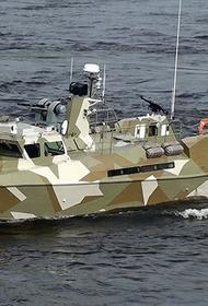 Отряд ПДСС Каспийской флотилии уничтожил диверсионный катер условного противника
