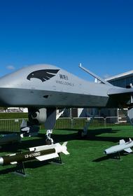 Сайт Sina: Россия, возможно, начала испытывать в Сирии новейший ударный дрон «Охотник»