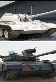 В Ираке представили собственную модернизацию древних T-55