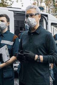 Сергей Собянин осмотрел новую подстанцию скорой помощи в Коммунарке