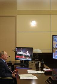 Путин заявил о постепенном отступлении пандемии в России, но расслабляться еще рано