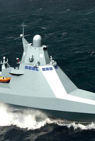 Крымские кораблестроители спустили на воду новейший патрульный корабль, созданный для ЧФ РФ