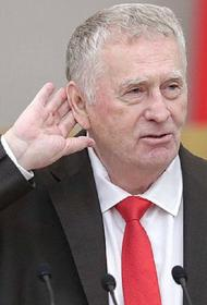 Жириновский предложил создать министерство молодежи и назвал кандидатуру министра