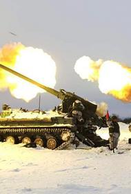 На Сахалине артиллерия Армейского корпуса уничтожила огневые позиции условного противника, десантировавшегося на остров