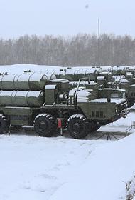 Новейшая ЗРС С-400 заступила на боевое дежурство на позиции, развернутой под Самарой