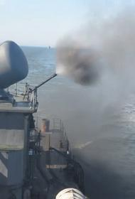 Российский ЧФ встретил американские эсминцы широкомасштабными военно-морскими маневрами с учебно-боевой стрельбой