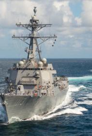 Провокация кораблей ВМС США в водах у берегов Крыма могла привести к столкновению с российским флотом