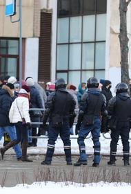 В Челябинске начались задержания на несогласованном митинге