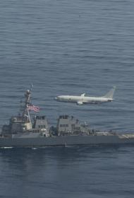В Черном море прошли совместные американо-украинские военно-морские учения