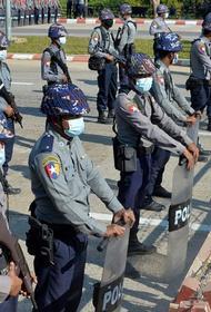 Военный переворот в Мьянме