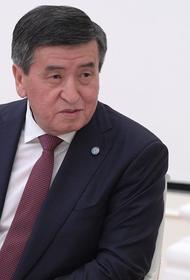 Бывший президент Киргизии Сооронбай Жээнбеков покинул страну