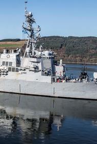 Сайт Avia.pro: российские корабли провели учебные стрельбы рядом с эсминцами США в Черном море