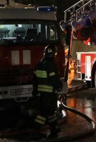 Пожар на складе автозапчастей в Красноярске локализован