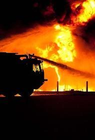 Названы возможные причины пожара на складе в Красноярске
