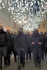 Росгвардия проведет проверку в отношении сотрудника ОМОН, ударившего оператора на несогласованной акции в Москве