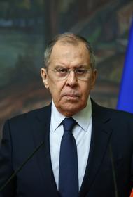 Лавров в разговоре с госсекретарем США напомнил Блинкену о необходимости уважать законы России