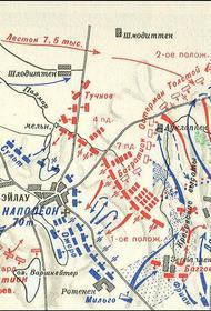 В этот день в 1807 году русские и французы сошлись в кровопролитном сражении при Прейсиш-Эйлау с ничейным результатом