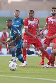 Сборная Иордании проиграла «Зениту» - 0:1