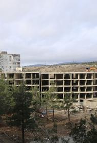 В Геленджике сносят недостроенные многоэтажки