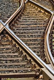 В Подмосковье задержали поезда из-за падения автомобиля на железнодорожные пути