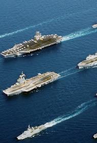 США держат близ ЮКМ две корабельные авианосные ударные группы, Китай готов их потопить в любой момент