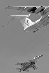 Боевые самолеты Северного флота провели дозаправку в воздухе