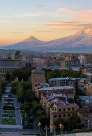В Армении произошло землетрясение магнитудой 4,9 балла
