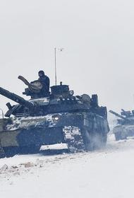 В Подмосковье прошли маневры гвардейской танковой армии ЗВО