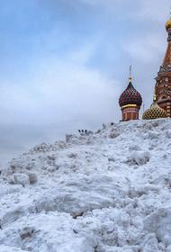 Высота сугробов в Москве может в субботу побить рекорд 1956 года