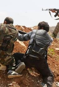 В сирийском Африне идет бой между двумя протурецкими группировками боевиков