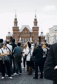 Собянин: доходы бюджета Москвы от туризма выросли за 10 лет в 2,5 раза