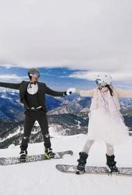 Молодая пара провела свадьбу в сочинских горах