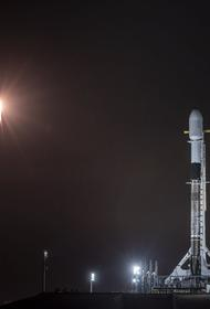 SpaceX запустила ракету-носителя  Falcon 9 с 60 спутниками Starlink