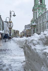 Москвичам пообещали слабую метель вечером во вторник