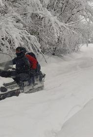 Несколько кубанских посёлков оказались отрезаны от внешнего мира снегом
